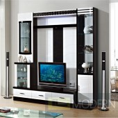 Contemporary Modern wall unit entertainment center MC8805