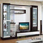 Contemporary Modern wall unit entertainment center MC8811