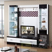 Contemporary Modern wall unit entertainment center MC8813