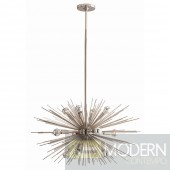 ARTERIORS Home Zanadoo 12 Light Small Chandelier - Nickel