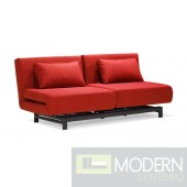 Swing Lounge Sofa Bed Red