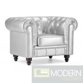 Aristocrat Arm Chair Silver