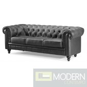 Aristocrat Chesterfield Sofa Black