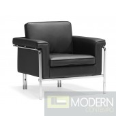 Singular Arm Chair Black