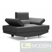 Blazer Arm Chair Black