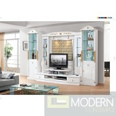 Contemporary Modern wall unit entertainment center MCSS905