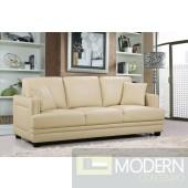 2Pc Ferrara Leather Sofa  and Loveseat