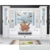 Contemporary Modern wall unit entertainment center MCSS917