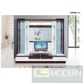 Contemporary Modern wall unit entertainment center MCSS926