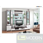 Contemporary Modern wall unit entertainment center MCSS928
