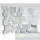 Lily Silver Accent mirror