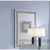 Cosmic Wall Decor in Mirror & Faux Diamonds