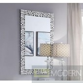 Vita Mirrored and Faux Gem Wall decor
