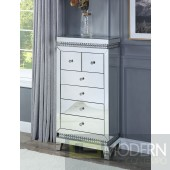 Primrose Chest in Mirror & Faux Crystals