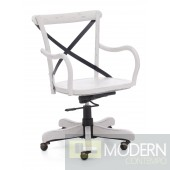 Union Square Office Chair Antique White