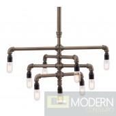 Dragonite Ceiling Lamp Brass