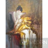"Modrest 4786 47""x35"" Oil Painting"