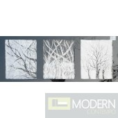 Modrest ADC8109 Tree Branches Oil Painting On Canvas and Metal