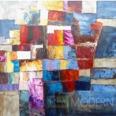 Modrest ADC8218 Abstract Oil Painting On Canvas