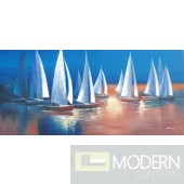 Modrest ADC8289 Sailboat Oil Painting On Canvas