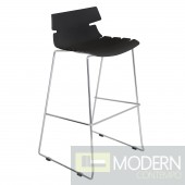 Bonefish Bar Stool Black