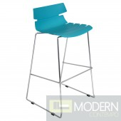 Bonefish Bar Stool Aqua Blue