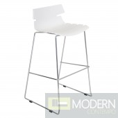Bonefish Bar Stool White