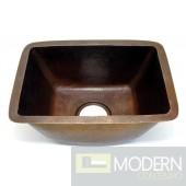 Rectangle Copper Bar Sink