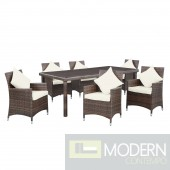 Vista 7 Piece Outdoor Patio Dining Set