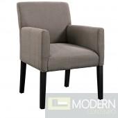 Chloe fabric Wood Armchair