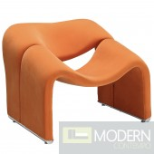 Cusp Lounge Chair Orange