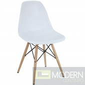 Pyramid Dining Side Chair White