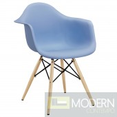 Pyramid Dining Armchair BLUE