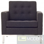 Loft Wool Armchair dark Grey