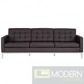Loft Leather Sofa brown