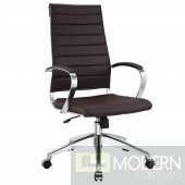 Jive Highback Office Chair Brown