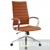 Jive Highback Office Chair Terracota