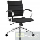 Jive Mid Back Office Chair Black