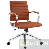 Jive Mid Back Office Chair Terracota