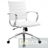 Jive Mid Back Office Chair WHITE