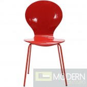 Red Insect Dining Side Chair