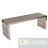 4ft Stainless Gainesville Medium Bench