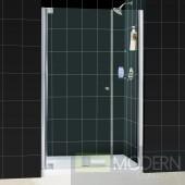 """Elegance Frameless Pivot Shower Door and SlimLine 36"""" by 48"""" Single Threshold Shower Base"""