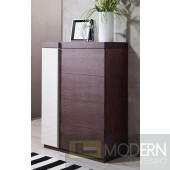 Modrest G509 - Modern 2-Tone Oak Multi-Chest