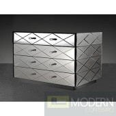 Modrest Segovia - Modern Mirrored Bedroom Furniture Dresser
