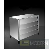 Modrest Roanoke - Modern Mirrored Bedroom Furniture Dresser