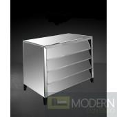 Modrest Roanoke - Modern Mirrored Bedroom Furniture Dresser