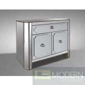 Modrest Dawson - Transitional Mirror Nightstand