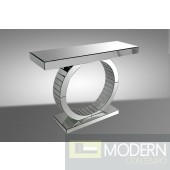 Modrest Oxim - Transitional Mirrored Console Table