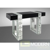 Modrest Perry - Transitional Mirrored Console Table
